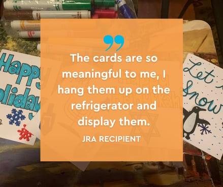 JRA Card Recipient